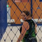 player having fun during a volleyball game-Bunbury Indoor Beach Volleyball-08 9726 0200