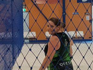 player having fun during a volleyball game-Bunbury Indoor Beach Volleyball-08 9726 0200